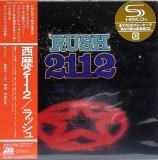 Rush : 2112 : cover