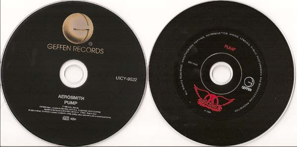 Real On Left and Fake On Right., Aerosmith - Pump (Real of Fake?)