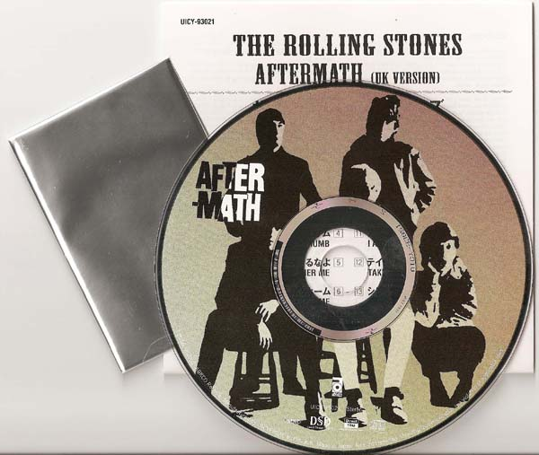 Disc, Insert, & still sealed Collector Card, Rolling Stones (The) - Aftermath (UK)