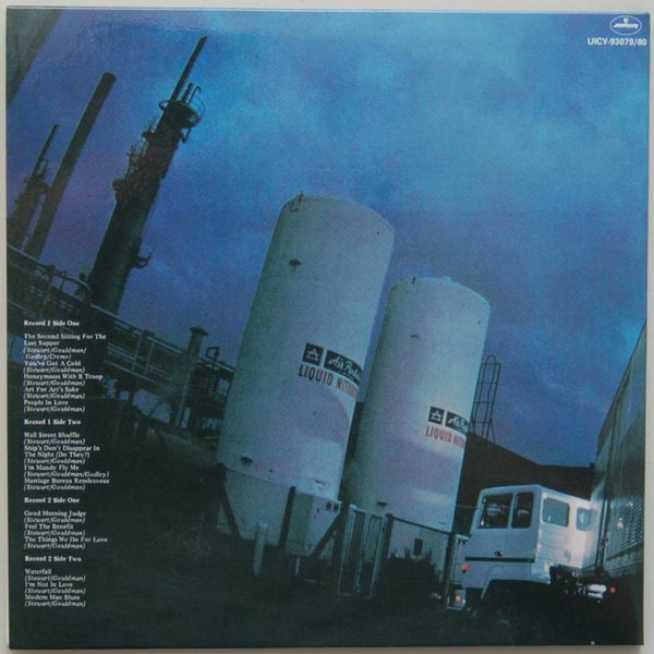 Back cover, 10cc - Live and Let Live