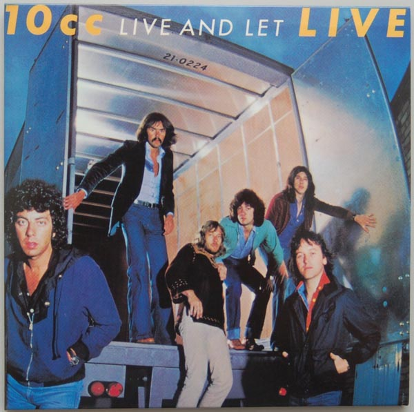 Front Cover, 10cc - Live and Let Live