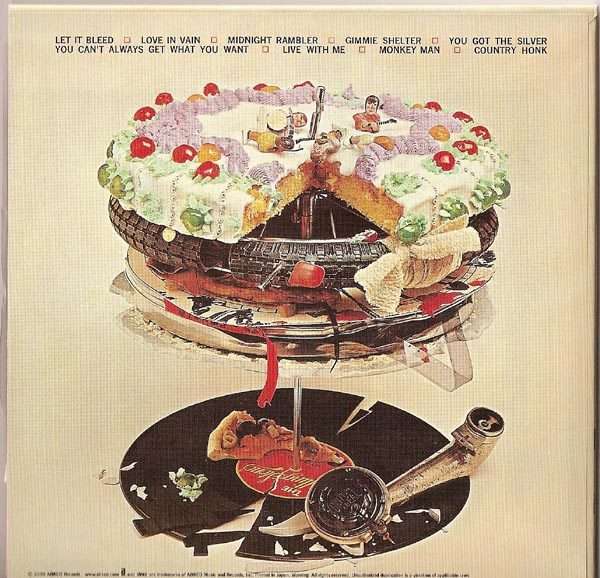 Back Cover, Rolling Stones (The) - Let It Bleed