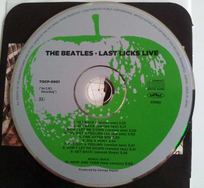 , Beatles (The) - Last Licks Live