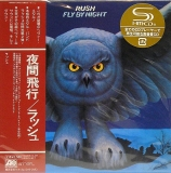 Rush : Fly By Night : cover