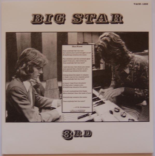 Inner sleeve A, Big Star - 3rd (aka Sister Lovers)