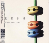 Rush : Different Stages : cover