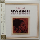 Simone, Nina : Nuff Said : cover