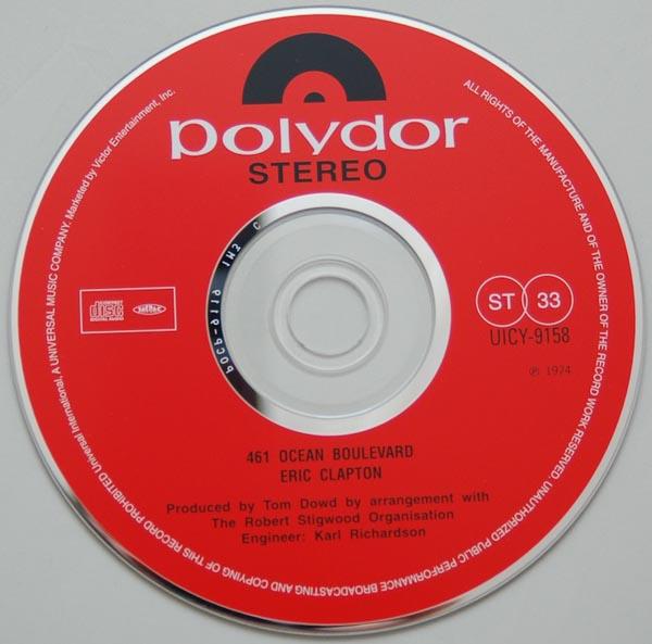 CD, Clapton, Eric - 461 Ocean Boulevard
