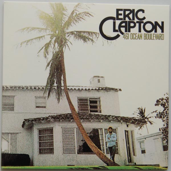 Front Cover, Clapton, Eric - 461 Ocean Boulevard