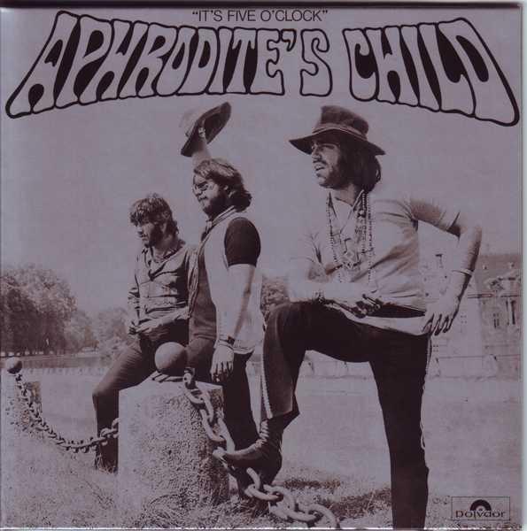 Front Cover, Aphrodite's Child - It's Five O'Clock
