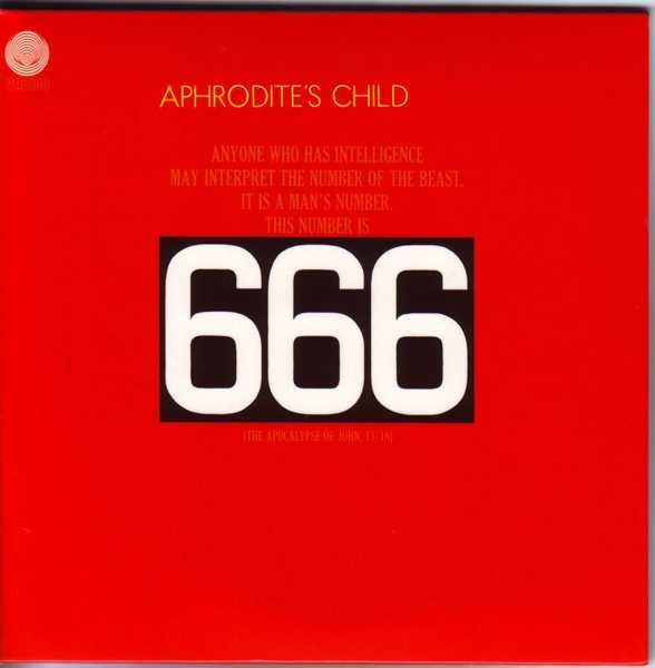 Front Cover, Aphrodite's Child - 666