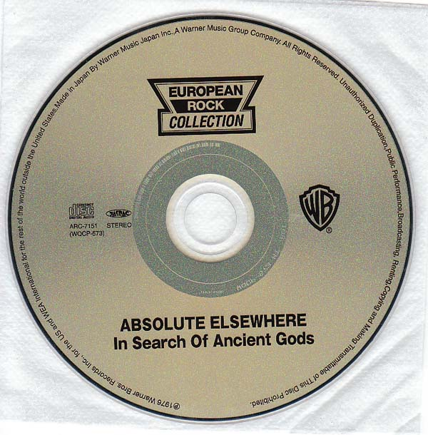 CD, Absolute Elsewhere - In Search Of Ancient Gods