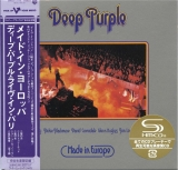 Deep Purple : Made In Europe [Live] : cover