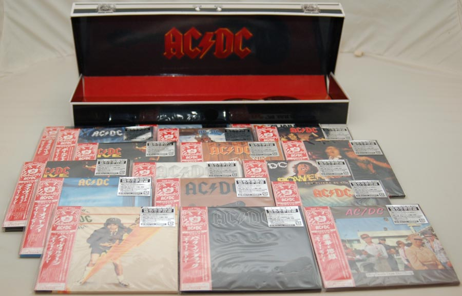 Box contents, AC/DC - Guitar Case Box