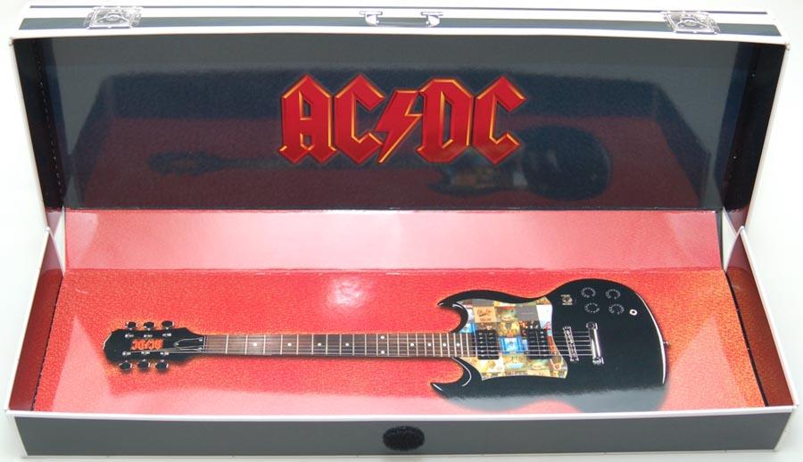 Empty box, AC/DC - Guitar Case Box