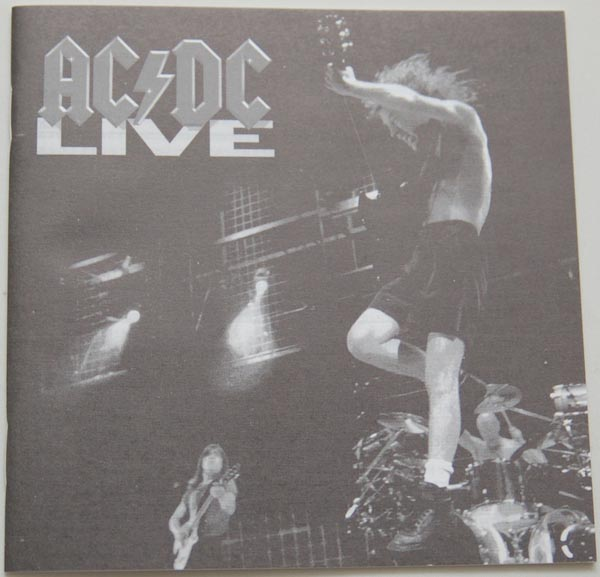 Lyric book, AC/DC - Live