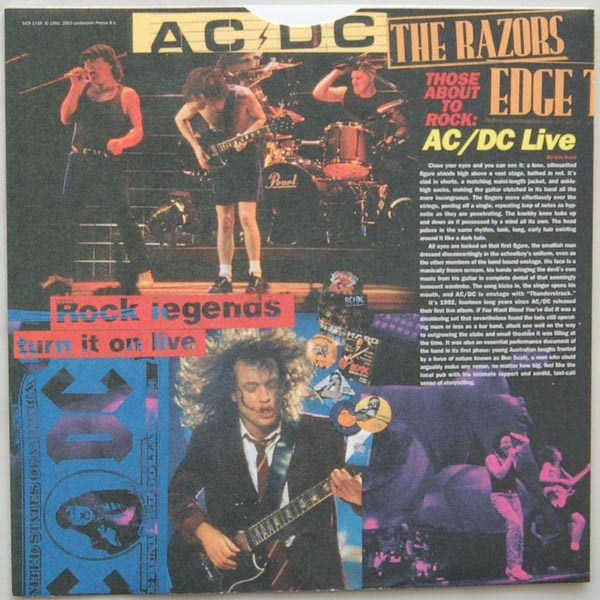 Inner sleeve side A, AC/DC - Live