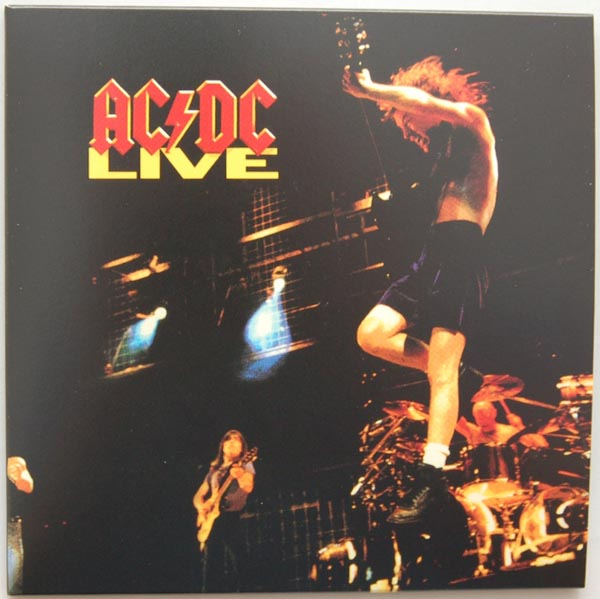 Front Cover, AC/DC - Live