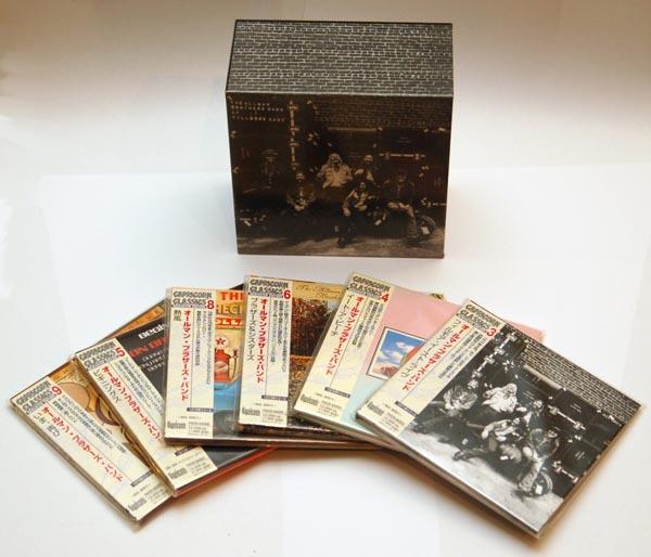 Box set contents, Allman Brothers Band (The) - At Fillmore East Box