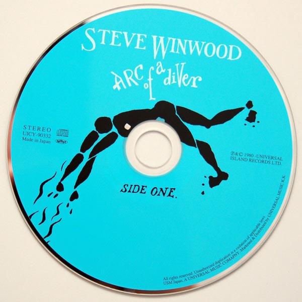 CD, Winwood, Steve - Arc Of A Diver