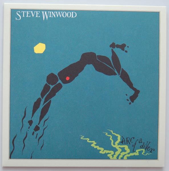 Front cover, Winwood, Steve - Arc Of A Diver