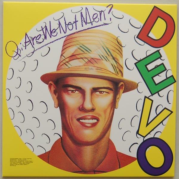 Front Cover, Devo - Q: Are We Not Men? A: We Are Devo