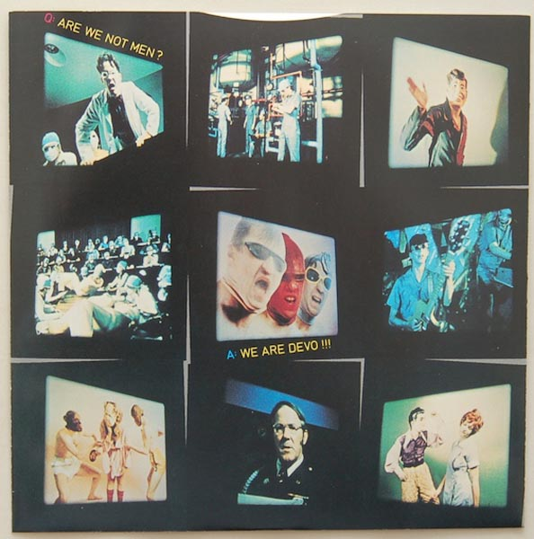 Inner sleeve side A, Devo - Q: Are We Not Men? A: We Are Devo