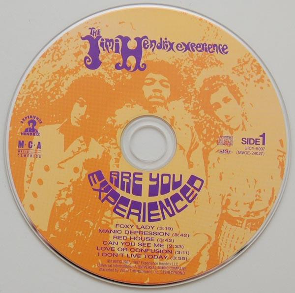 CD, Hendrix, Jimi - Are You Experienced