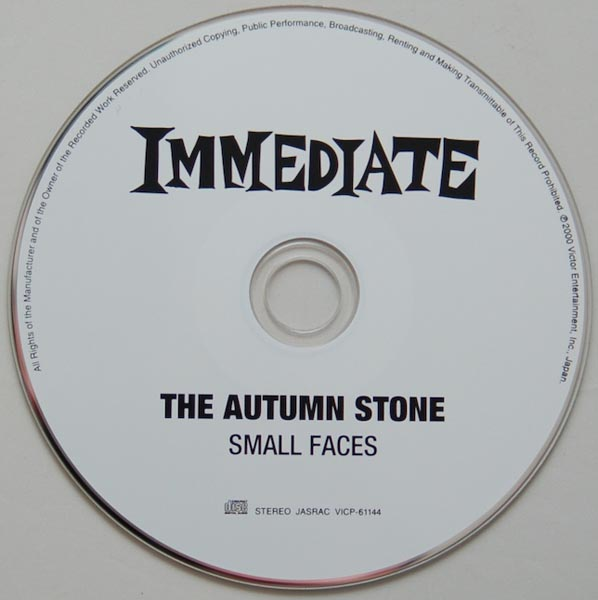 CD, Small Faces - The Autumn Stone