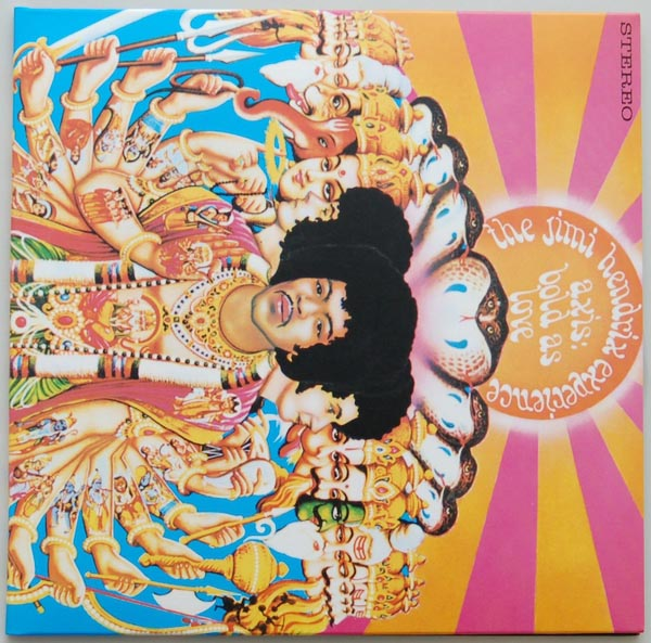 Front Cover, Hendrix, Jimi - Axis: Bold As Love