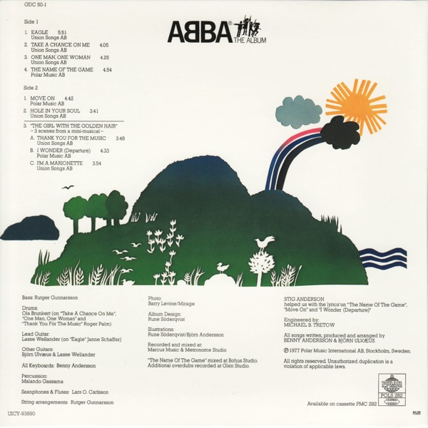 back, Abba - The Album +1