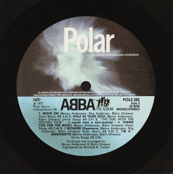 original label design b, Abba - The Album +1
