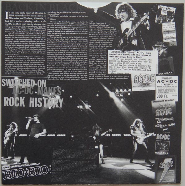 Inner sleeve side A, AC/DC - Back In Black