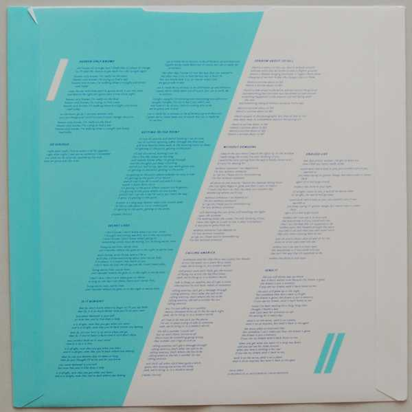 Inner sleeve side B, Electric Light Orchestra (ELO) - Balance Of Power