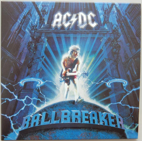 Front Cover, AC/DC - Ballbreaker