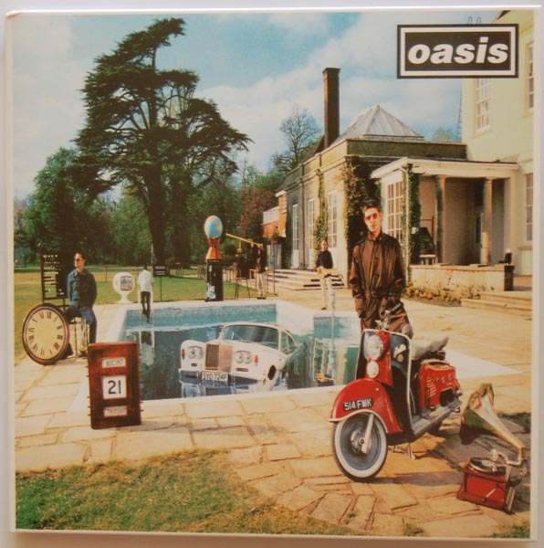 Front cover, Oasis - Be Here Now