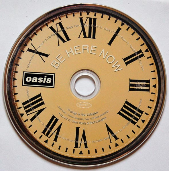 CD, Oasis - Be Here Now
