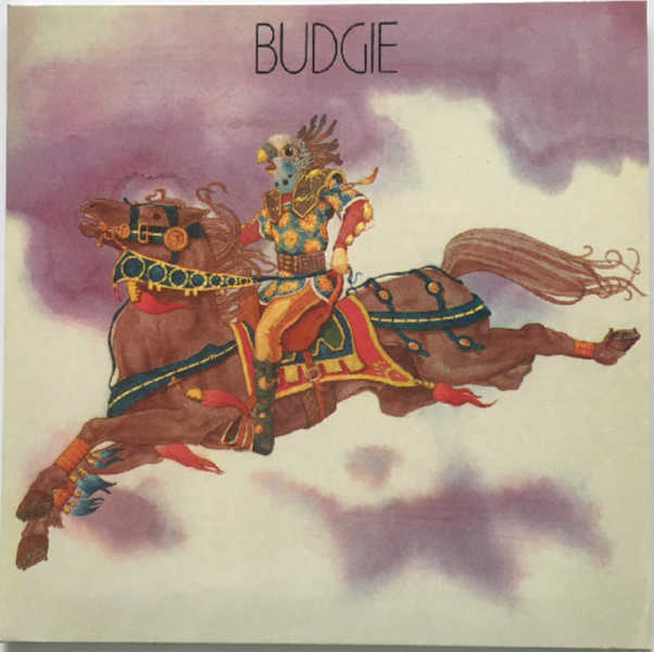 Cover, Budgie - Budgie