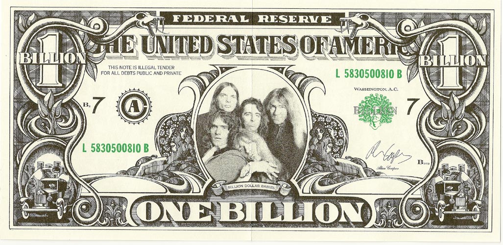 Billion $ Front, Cooper, Alice - Billion Dollar Babies
