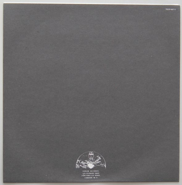 Inner sleeve side B, XTC - White Music