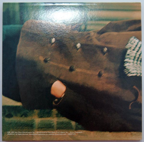 Back cover, Dylan, Bob - Blonde on Blonde