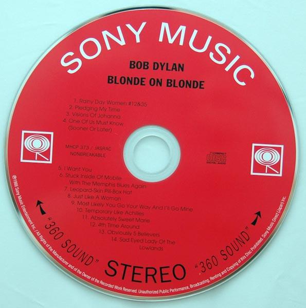 CD, Dylan, Bob - Blonde on Blonde