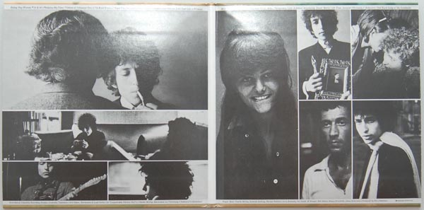 Gatefold open, Dylan, Bob - Blonde on Blonde