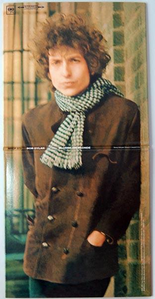 Front + back cover unfolded, Dylan, Bob - Blonde on Blonde