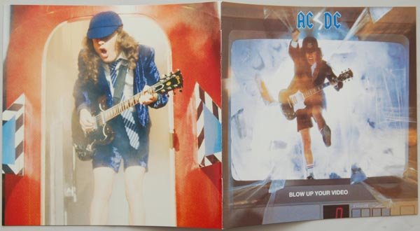 Booklet, AC/DC - Blow Up Your Video