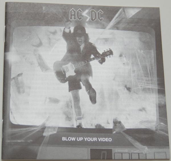 Lyric book, AC/DC - Blow Up Your Video