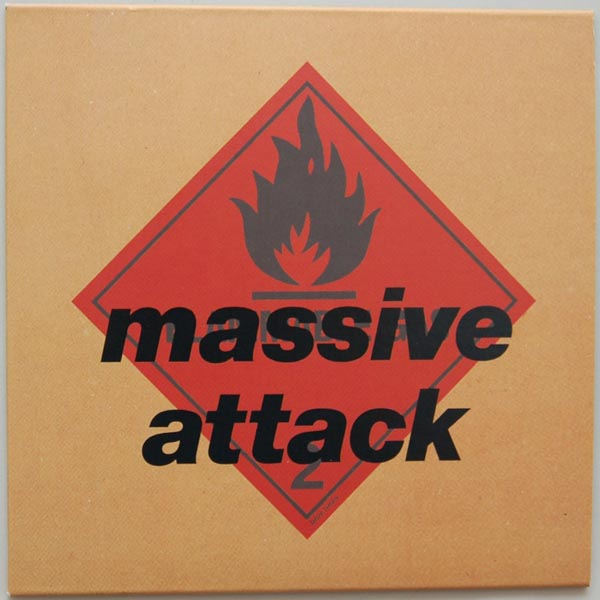 Front Cover, Massive Attack - Blue Lines