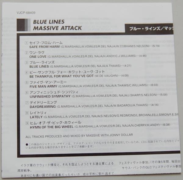 Lyric book, Massive Attack - Blue Lines