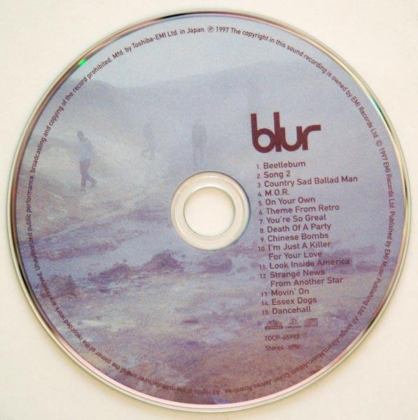 CD, Blur - Blur +1
