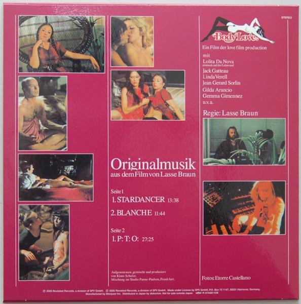 Back cover, Schulze, Klaus - Body Love